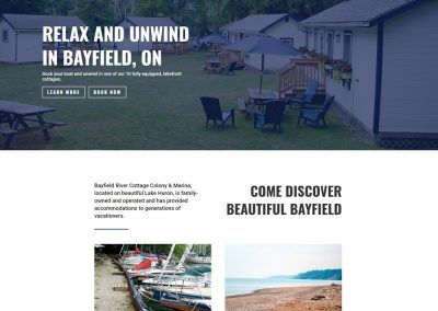 Bayfield River Cottage Colony & Marina